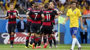 Brasilien-Deutschland, Halbfinal: Die Bilder zum Spiel