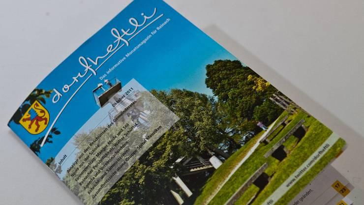Die Frontseite der Reinacher Ausgabe mit dem Hombergturm.