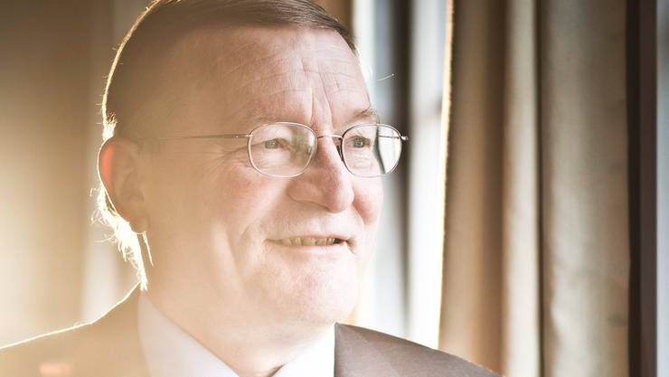 Der langjährige Fricker Ammann Anton Mösch. Annika Bütschi