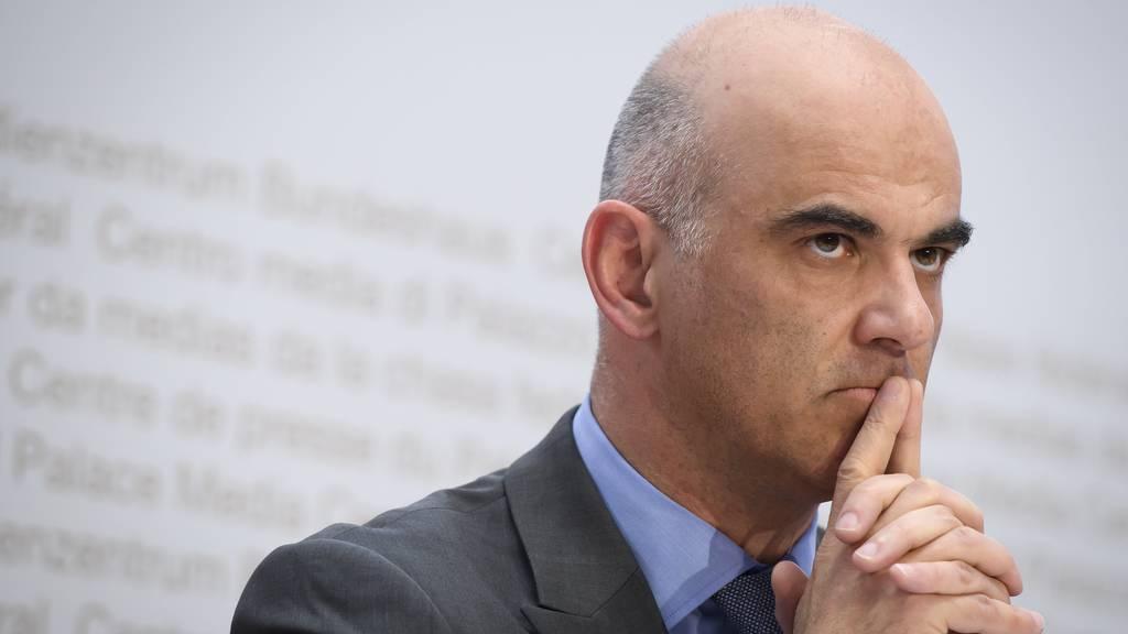 Alain Berset über die Coronapandemie: «Es wird bis Mitte Mai noch nicht vorüber sein»