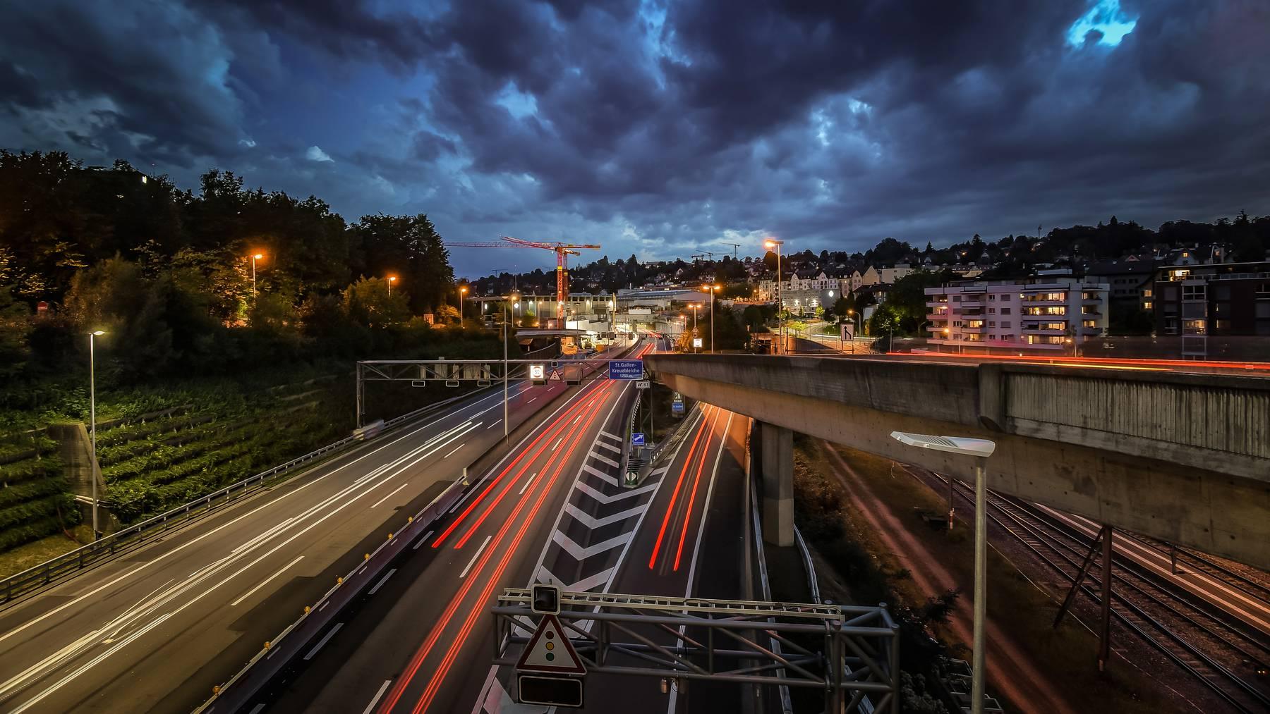 St.Galler Stadtautobahn