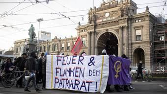 In Zürich wurde am Wochenende demonstriert.
