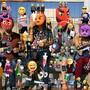 """In einer internationalen Gruppenausstellung beschäftigt sich das Aargauer Kunsthaus mit dem Thema Maske in der Kunst der Gegenwart. Zu sehen ist unter anderem das Fotowerk """"Emojis"""" von Olaf Breuning."""