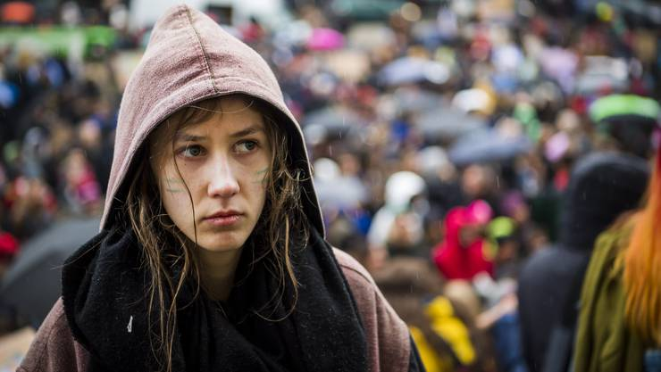 Die 19-jährige Klimaaktivistin Juliette Vernier erhielt bei den Waadtländer Regierungsratswahlen einen Viertel der Stimmen.