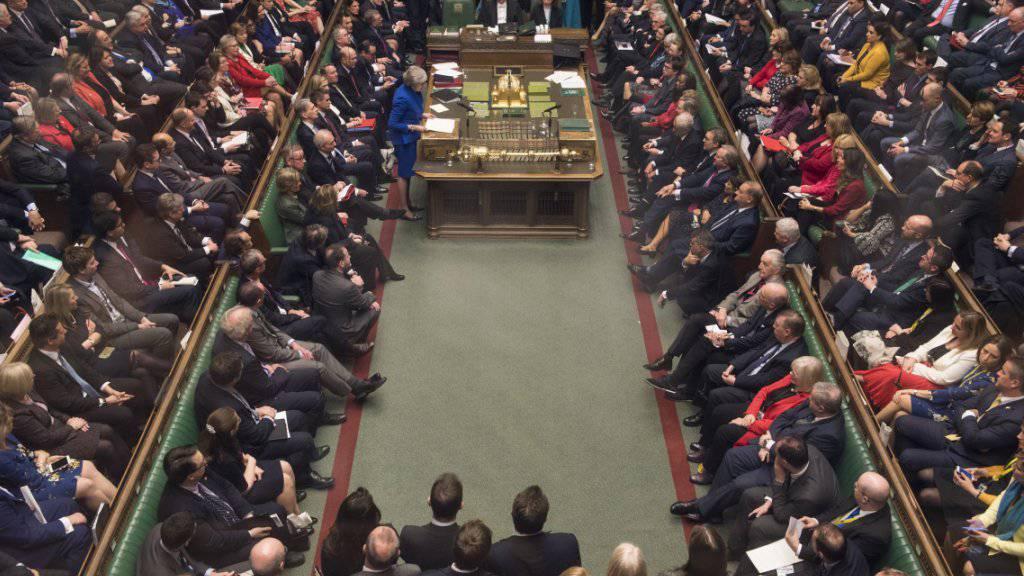 Am 29. Januar - zwei Monate vor dem geplanten EU-Austritt Grossbritanniens - soll im Unterhaus über einen Plan B abgestimmt werden. (Archivbild)