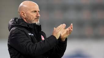 """Für Thun-Trainer Carlos Bernegger ist der FC Aarau """"eine der stärksten Mannschaften in der Challenge League"""""""