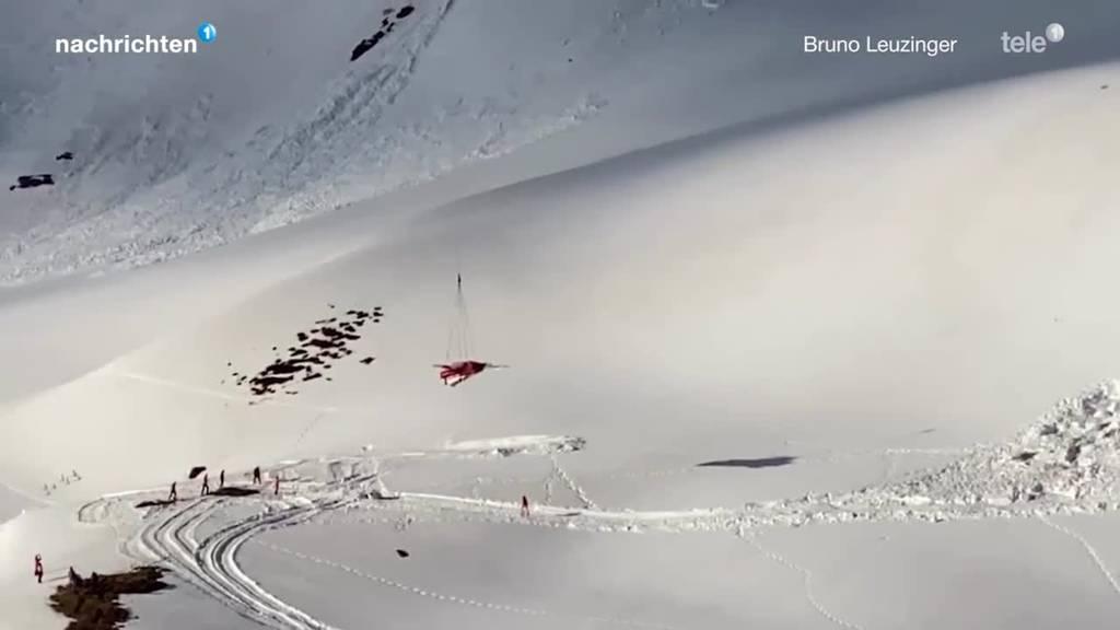 Rumpf des abgestürzten Tiger-Jets fertig geborgen