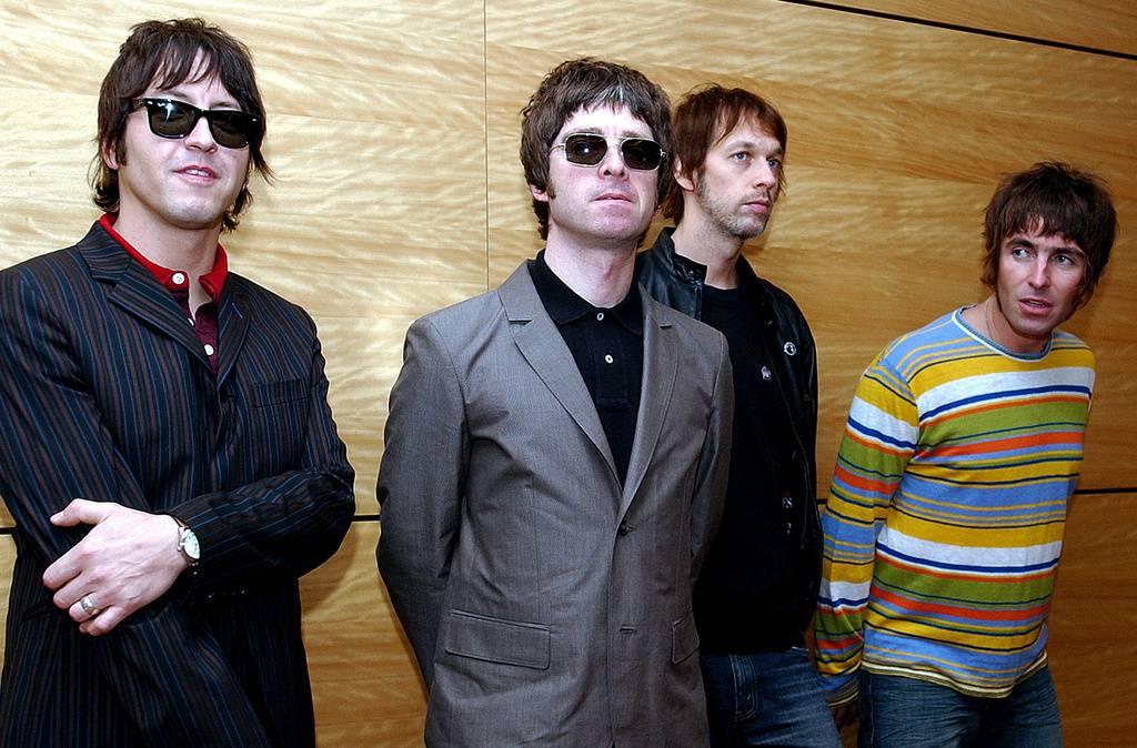 Oasis im Jahr 2006: Gem Archer, Noel Gallagher, Andy Bell und Liam Gallagher. (© Keystone)