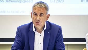 Alex Hürzeler, Regierungsrat und Bildungsdirektor.