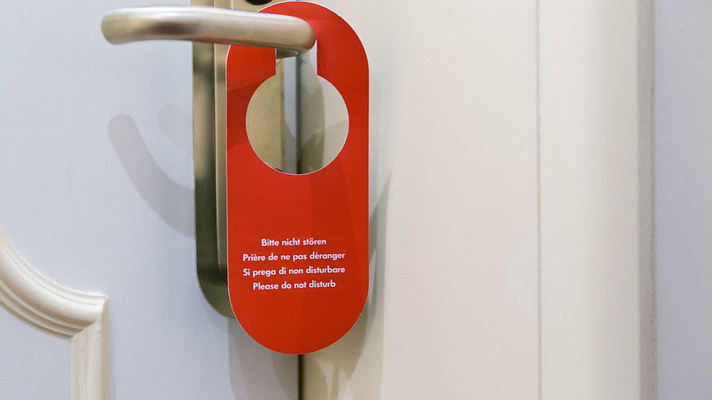 Deutlich mehr Personen haben im Januar in Schweizer Hotels übernachtet, als noch vor Jahresfrist. (Archiv)