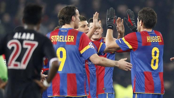 Im letzten Februar siegte der FC Basel gegen Bayern München im Champions-League-Achtelfinal mit 1:0.