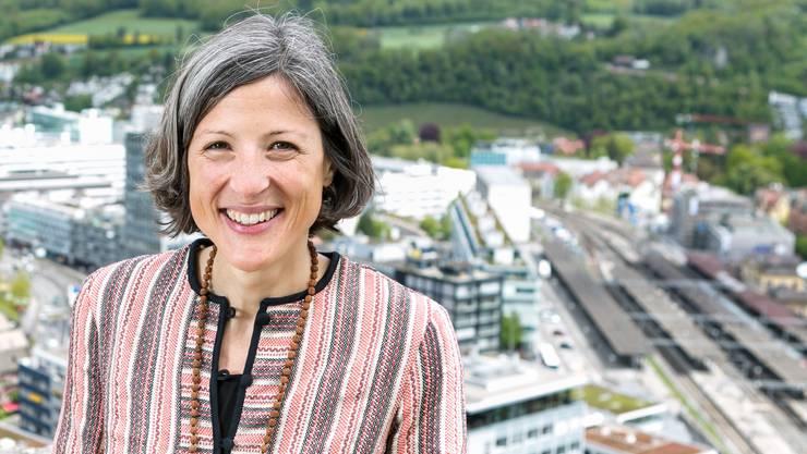 Sandra Kohler, parteilose Stadträtin in Baden, will nach Bern.