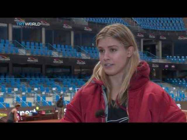 """Eugenie Bouchard gives Maria Sharapova huge serve """"Sie ist eine Betrügerin und sollte nie wieder spielen dürfen»"""