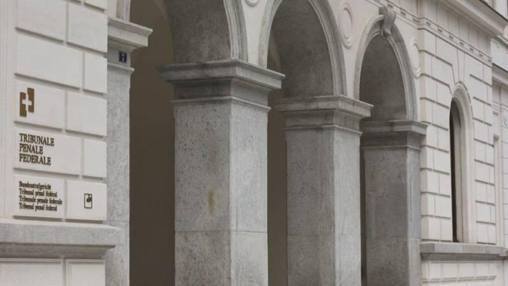 Am Bundesstrafgericht in Bellinzona stehen  die Verantwortlichkeiten für den Insieme-Skandal vor Gericht Red und Antwort (Archiv).
