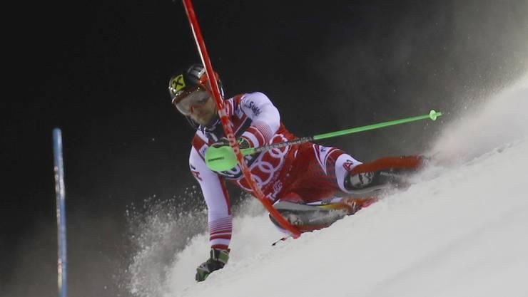 Marcel Hirscher wird beim Slalom von Kitzbühel im Mittelpunkt stehen.