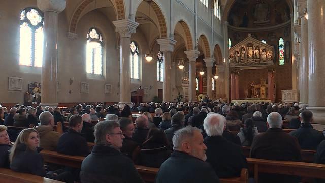 Trauerfeier für Willi Melliger