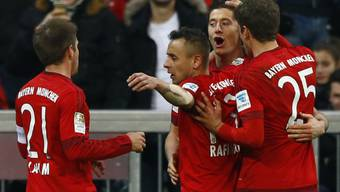 Es geht doch: Die Bayern feiern den 14. Saisonsieg im 16. Bundesligaspiel