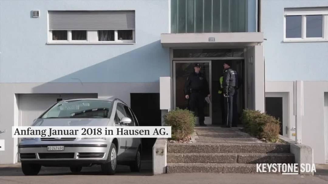 Prozessbeginn Doppelmord Hausen AG