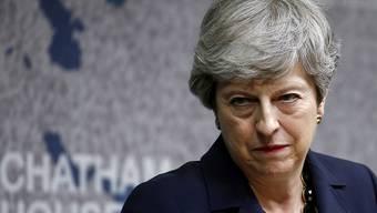 Kurz vor dem Wechsel an der Spitze seiner Regierung will Grossbritannien will Theresa May am heutigen Montag eine Dringlichkeitssitzung des Krisenkabinetts leiten. (Archivbild)