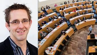Der neu gewählte CVP-Grossrat Ralf Bucher.