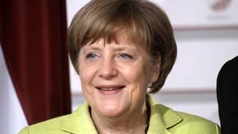 """Laut """"Forbes"""" weiterhin die mächtigste Frau der Welt: Die deutsche Bundeskanzlerin Angela Merkel"""