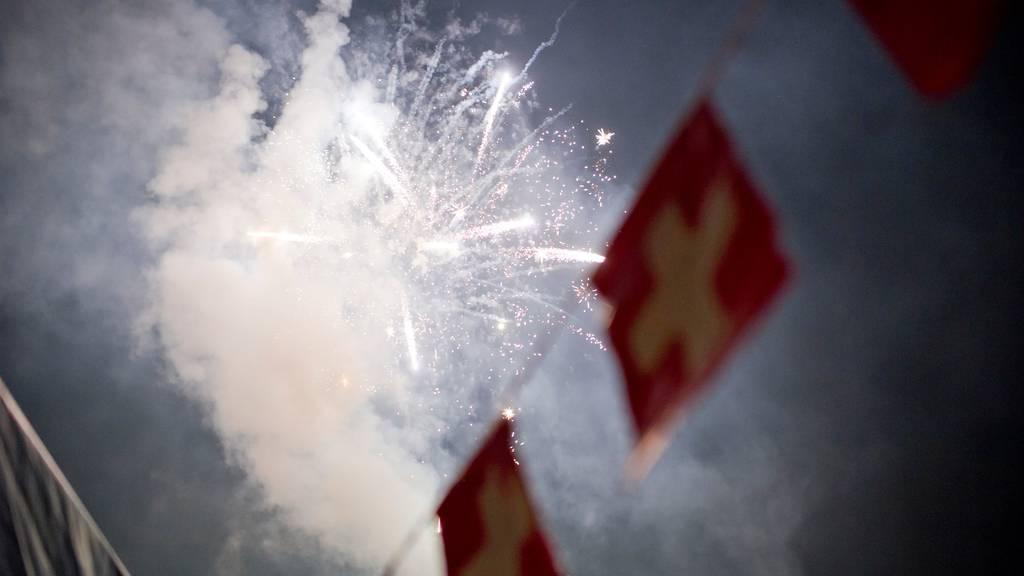 Bundesamt für Umwelt rät zur Zurückhaltung bei privaten Feuerwerken