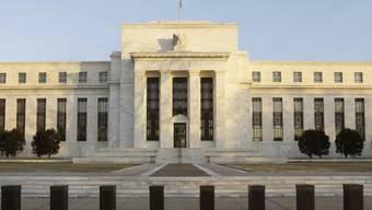 Gebäude der US-Notenbank Federal Reserve in Washington (Archiv)
