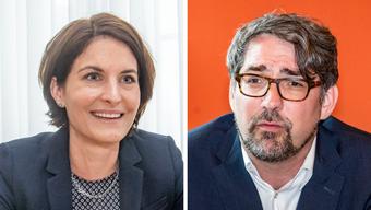 Pascal Pfister und Saskia Schenker geben ihre Ämter beide ab.