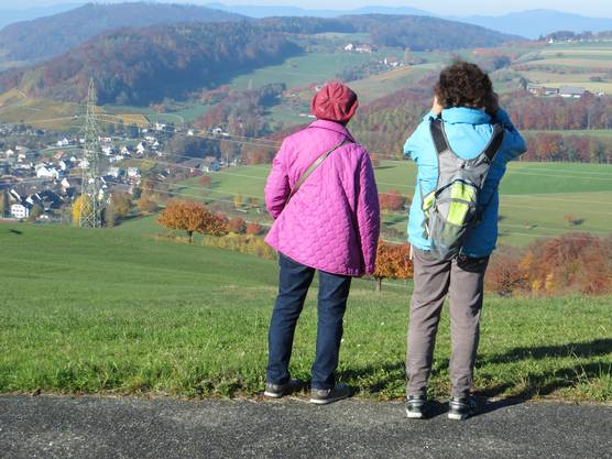 Ein Blick ins Dorf BUUS.