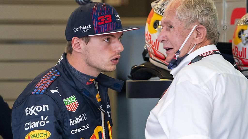 Verstappen entscheidet Qualifying-Duell gegen Hamilton für sich