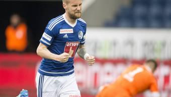 Markus Neumayr zweifacher Torschütze des FC Luzern