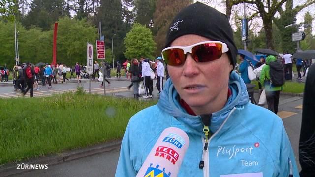 Blind am Zürich Marathon