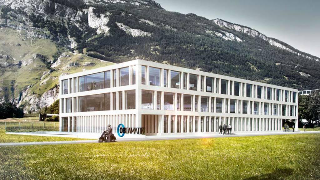 So soll das Innovationszentrum auf dem Rossboden aussehen.