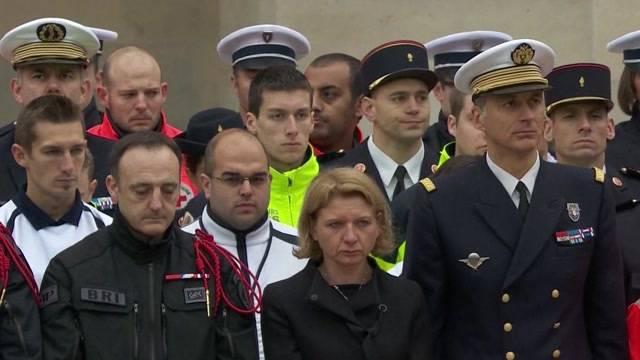 Bewegende Abschiedsfeier in Paris