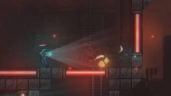 So sieht der Pixel-Art-Look von «Cryogear» aus.