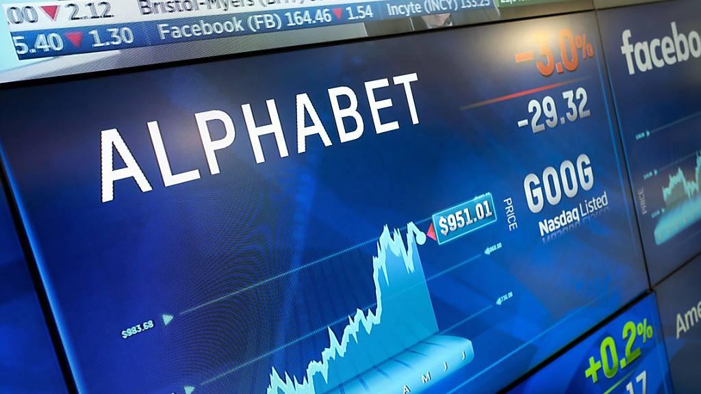 Die Google-Mutter Alphabet gab am Donnerstag neue Geschäftszahlen bekannt. (Symbolbild)