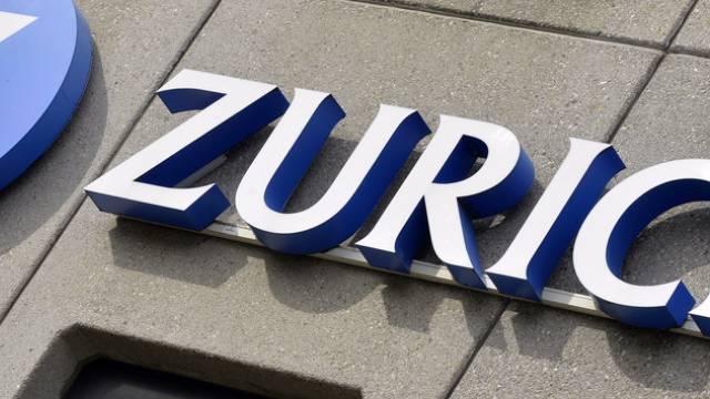 Logo am Sitz der Zurich (Archiv)