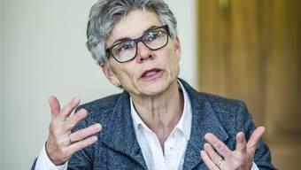 «Die Änderungen zum Voranschlag des laufenden Jahres sind wirklich sehr minim», Franziska Möhl, Vizeammann Stadt Lenzburg