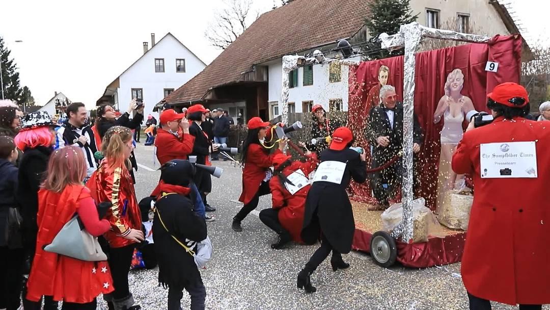Fasnachtsumzug in Fulenbach 2020