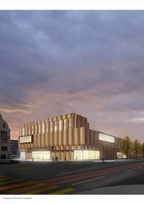 So soll die Erlenmatt-Galerie im Norden Basels aussehen.