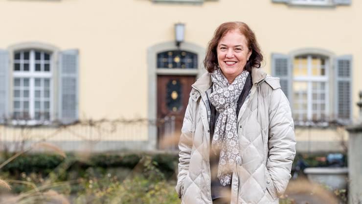 Andrea Metzler im Garten beim Brugger Stadthaus: «Mir war immer klar, dass es ein Leben nach dem Stadtrat gibt.»