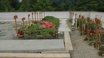Die erste muslimische Grabstätte im Kanton Zürich auf dem Friedhof Zürich Witikon.