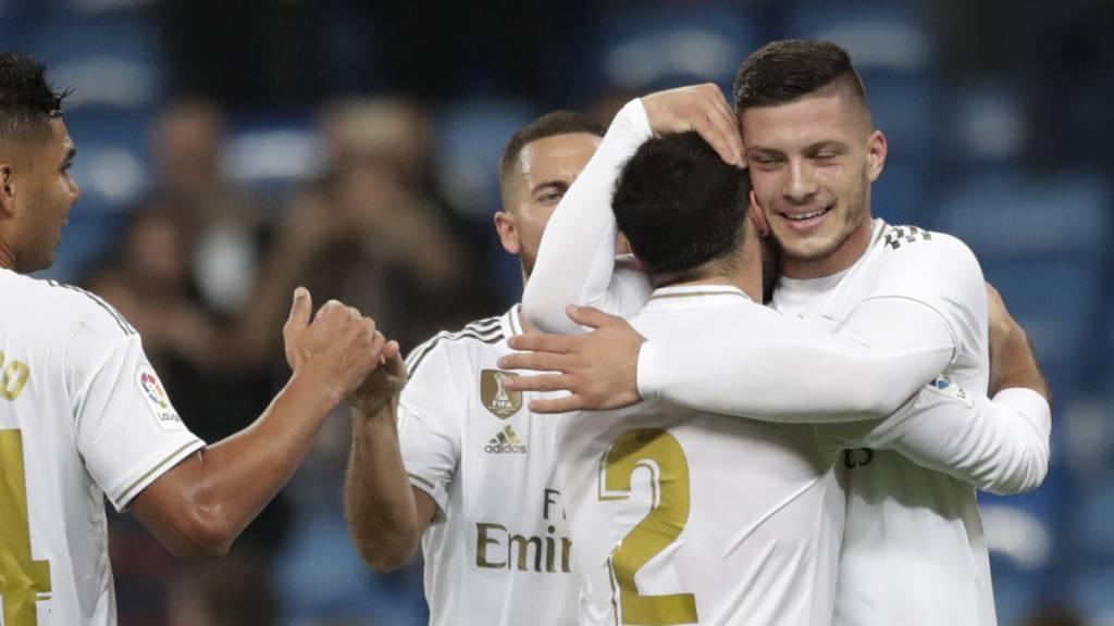 Real Madrid gewinnt – Jovic trifft erstmals