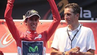 Der erste Leader der Vuelta heisst Jonathan Castroviejo