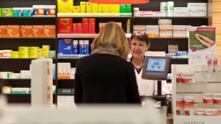 Der Vertriebsanteil bestimmt, wie viel ein Apotheker beim Verkauf eines Medikaments verdient.GAETAN BALLy/Keystone