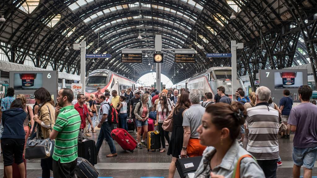 Nach Coronafahrplan: Die SBB fährt wieder bis nach Mailand