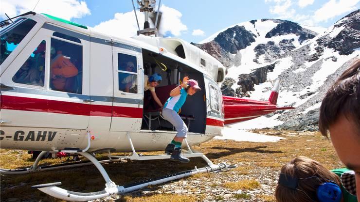 «Wandern war nie luxuriöser», verspricht ein Unternehmen, das Heli-Wandern anbietet. Getty Images
