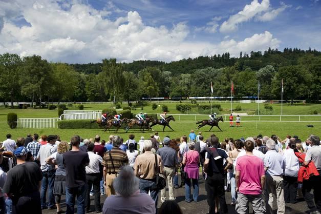 Impressionen vom Pferderennen in Aarau