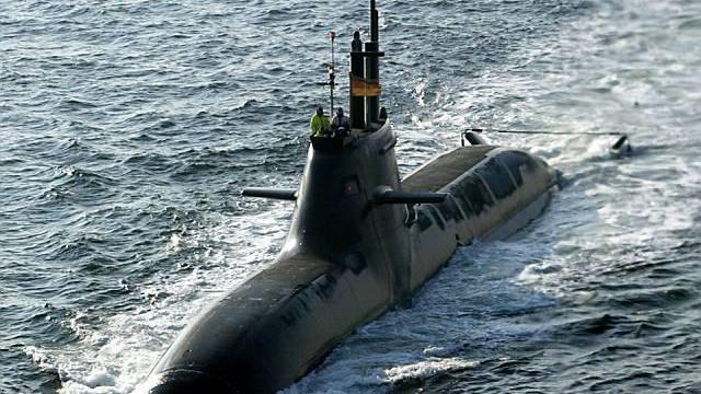 Ein Atom-U-Boot (Archiv)