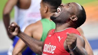 Alex Wilson, Bronze über 200 Meter an der EM 2018 in Berlin